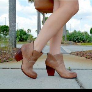 Korkease 'Castaneda' leather bootie